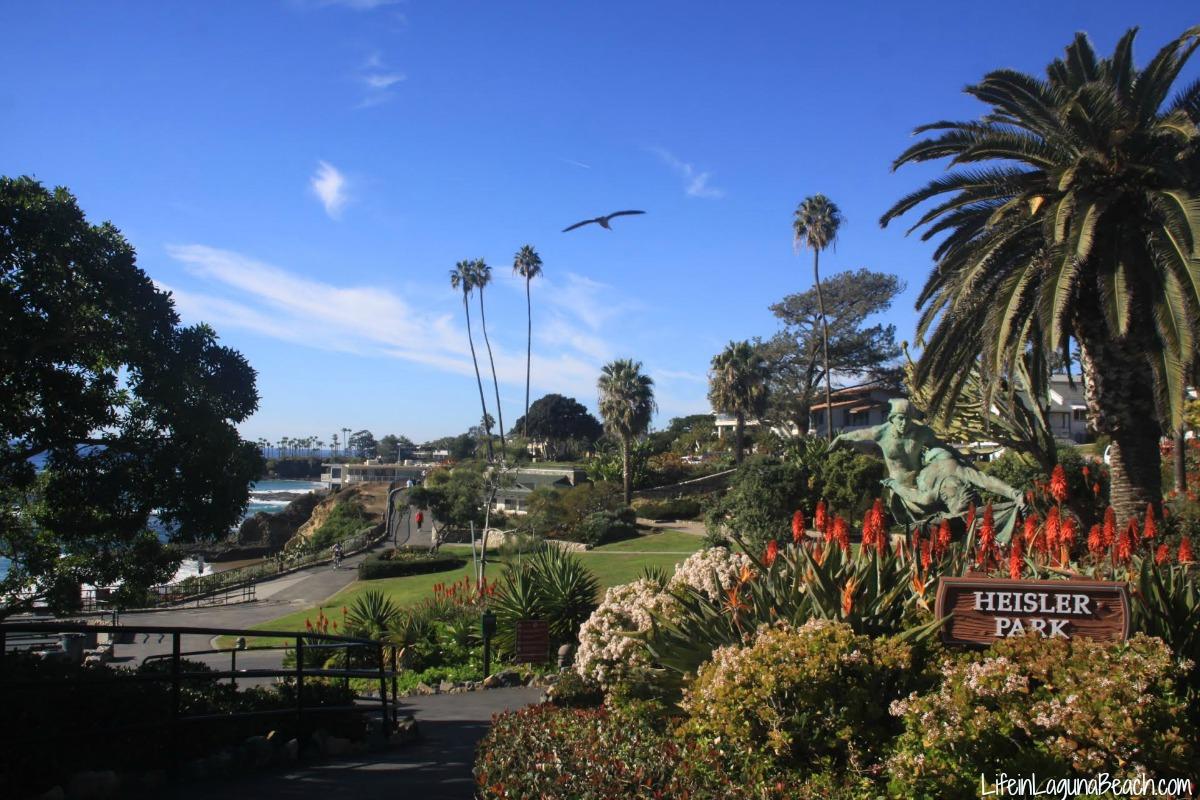 Life in Laguna Beach Heisler Park Laguna Beach California