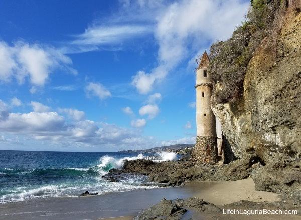 Life in Laguna Beach - Victoria Beach LIfeinLagunaBeach.com