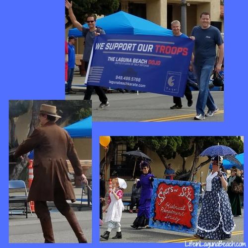 Life in Laguna Beach - Patriots Day Parade